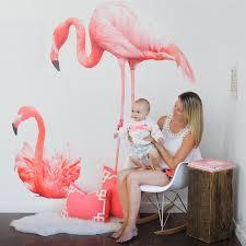 Flamingo Bathroom Full Color Flamingos Flamingo Wall Decals Urban Walls