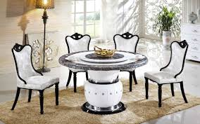 Marble Dining Room Tables Dining Tables Stone Top Round Dining Table Dining Table Marble