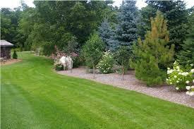 Boulder Landscaping Ideas Garden Astounding Evergreen Landscaping Ideas Astounding