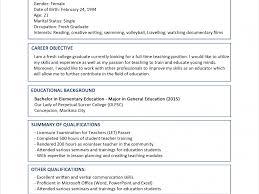 personal background sample resume clever sample resume format 2 sample resume format for fresh download sample resume format