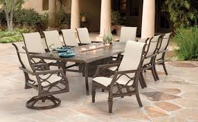 Patio Table Fire Pit by Perfect Ideas Fire Dining Table Lofty Idea Round Patio Dining