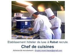 recrutement chef de cuisine youssef zeroual chef exécutif linkedin