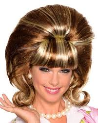 Candy Apple Halloween Costumes Conception 1960 U0027s Bouffant Wig Candy Apple Costumes 50 U0027s
