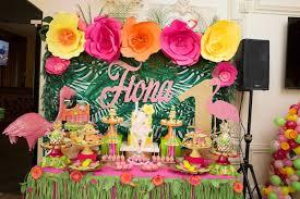 Tropical Theme Birthday Cake - kara u0027s party ideas tropical flamingo paradise birthday party