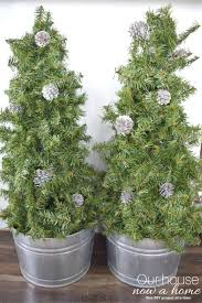 christmas topiary diy christmas tree topiary simple and low cost our house now a