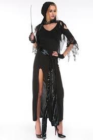 Halloween Reaper Costume Aliexpress Buy October 31 Piece Grim Reaper Costume