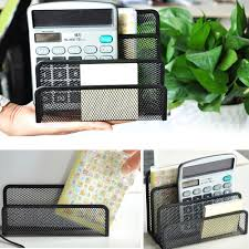 Black Wire Mesh Desk Accessories by Online Get Cheap Metal Bookends Black Aliexpress Com Alibaba Group