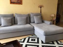 vend canapé canapé angle déhoussable gris clasf