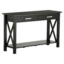 patio furniture kitchener kitchener console sofa table simpli home target
