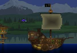 Beds Terraria I Added A Little Boat Next To My Latest One U003e Https Www Reddit