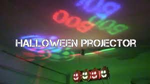 Diy Halloween Lighting by Diy Halloween Projector Youtube
