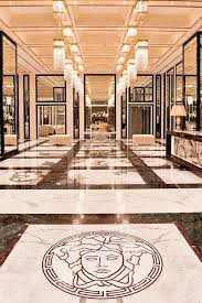 marble floor design versace marble floor medallion