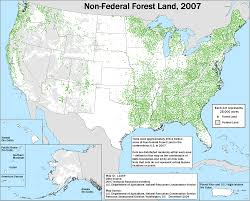 Map Of Federally Owned Land In Usa by Land Use Status And Trends 2007 Nrcs
