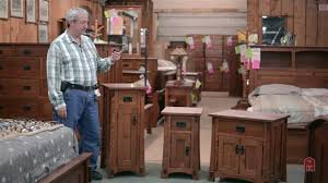 Antique Mission Style Bedroom Furniture Barn Furniture Mission Style Arts And Crafts Night Stands Youtube