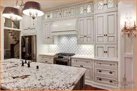 amazing brick backsplash for the kitchen with food and beverage