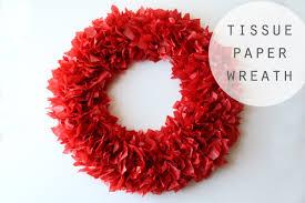 15 best photos of diy tissue paper wreath diy tissue paper