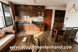 rent for two bedroom apartment serviced apartment in cau giay