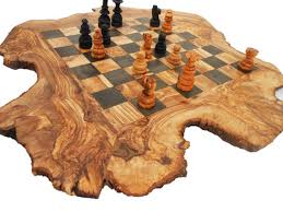 christmas gift idea 20 off rustic personalized chess board