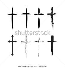 religion cross icon symbol vector illustration stock vector