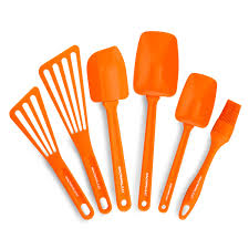 kitchen tools and gadgets rachael ray tools and gadgets 6 piece orange nylon tool set tool