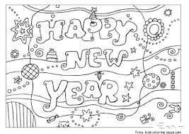 mickey mouse new years coloring pages print out happy new year coloring card didi coloring page