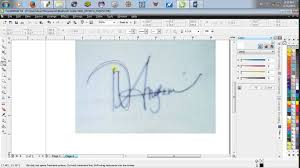 membuat tanda tangan digital gratis corel draw membuat tanda tangan youtube
