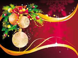 christmas decoration background vector free vector 4vector