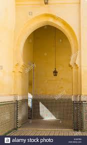 Morocco Design Meknes Morocco Interior Design Of Mausoleum Of Moulay Idriss