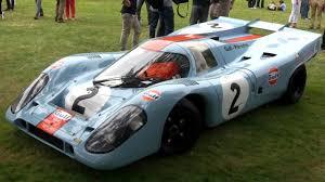 gulf racing porsche 917k flat 12 engine sound youtube