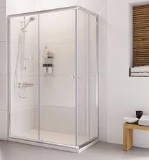 haven 800 x 900 twin door offset corner entry shower enclosure h3c89cs