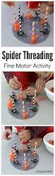 spider threading fine motor activity early math learning colors