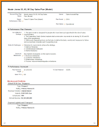 7 30 60 90 day sales plan template free sample driver resume