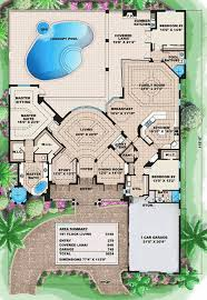 corner lot floor plans plan w66008we corner lot luxury premium collection florida