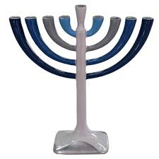 modern menorah best unique modern menorahs for a hanukkah 2017