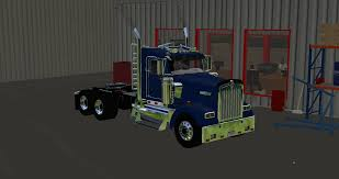 kenworth 2017 kenworth w900 daycab mod for farming simulator 2017 kennworth
