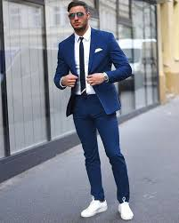 wedding for men tailor made navy blue wedding suits for men slim fit smart casual