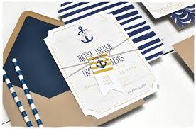 nautical waves wedding invitation suite smitten on paper