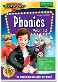 amazon com phonics volume 1 dvd by rock u0027n learn brad caudle