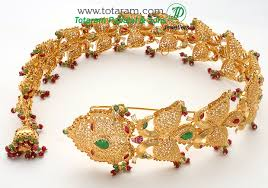 22k gold peacock gold choti gold hair accessories