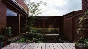 Courtyard Designs Roofed Terrace Chinese Courtyard House Modern Japanese Design