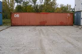 used storage containers for sale 40ft cwo high cube 1850