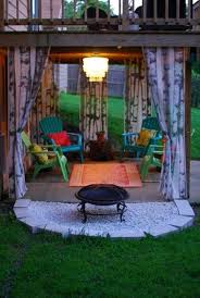 Backyard Living Ideas by 99 Deck Decorating Ideas Pergola Lights And Cement Planters 6