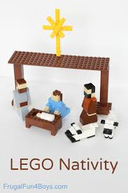 lego nativity set