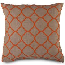 Fall Outdoor Pillows by Interior Orange Stripe Pillow Fall Throw Pillows Euro Pillows
