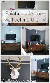 Grey Accent Wall by Dark Grey Tv Accent Wall