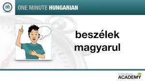 rosetta stone hungarian how to say that you speak hungarian one minute hungarian lesson 3