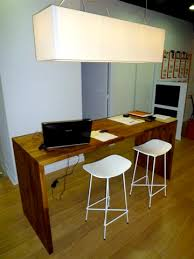 plan de travail pour bureau sur mesure bureau flip design boisflip design bois