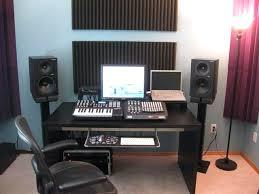 home music studio desk music studio desk home recording studio