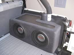 jeep wrangler speaker box thread tailgate mounted subs jeep jeeps jeep
