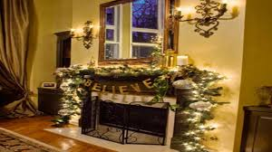 fireplace xmas decorations christmas decorated fireplace mantels
